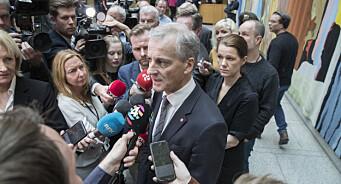 Over halvparten av norske journalister ser seg selv på venstresiden politisk