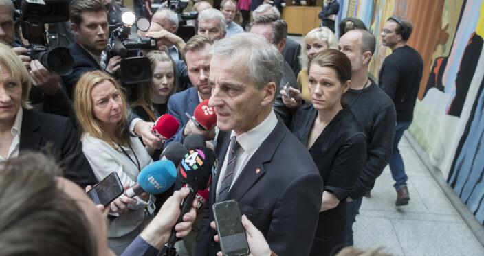 Over halvparten av norske journalister er på venstresiden politisk