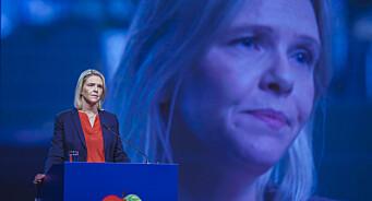 Listhaug mener NRK bør si opp programleder