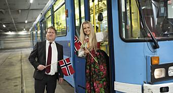 Vil ta Oslo sentrum hjem til folket på 17. mai med Avisa Oslo-trikken