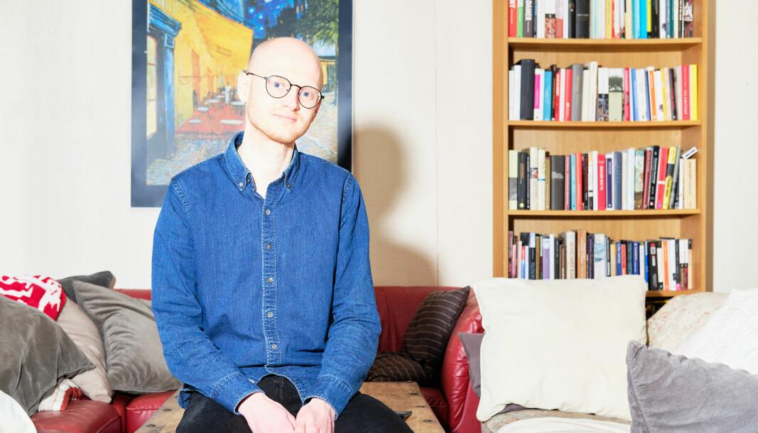 Endre Ugelstad Aas er nyvalgt redaktør i Universitas.