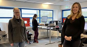 Ingunn (25) og Lisa Marie (34) får faste stillinger i Vestby Avis