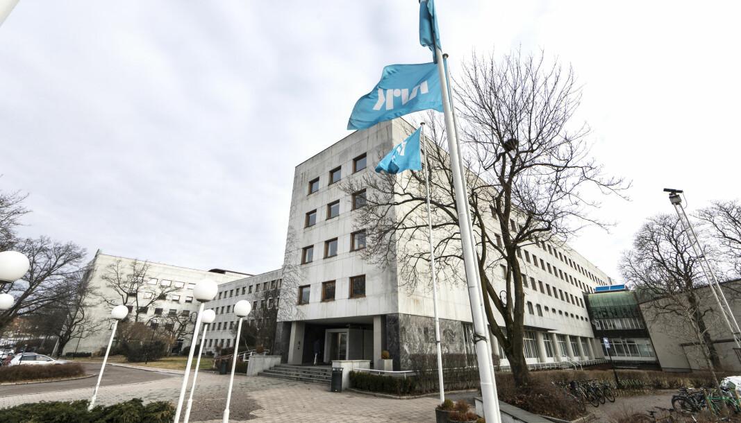 NRK på Marienlyst.