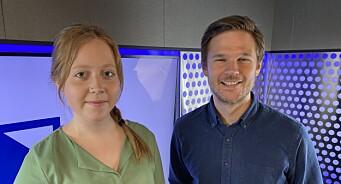 Miriam (22) og Andreas (32) får fast jobb i Bauer Media: – To store talenter