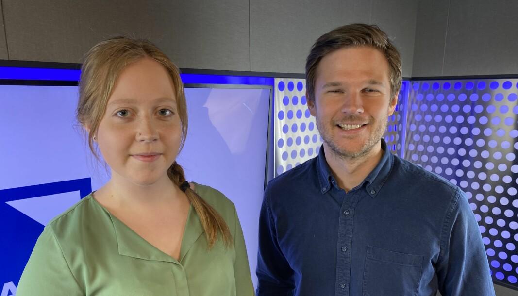 Miriam Alsvik og Andreas Hagen Håkonsen blir fast ansatt i Bauer Media.