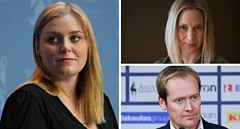VG spurte om det ikke blir for mange kvinnelige ledere i Høyre: – Provoserende