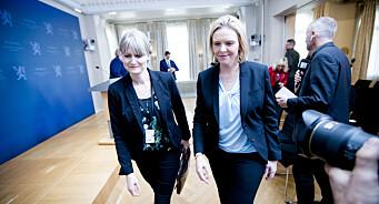Sylvi Listhaug garanterer fortsatt støtte til Human Rights Service