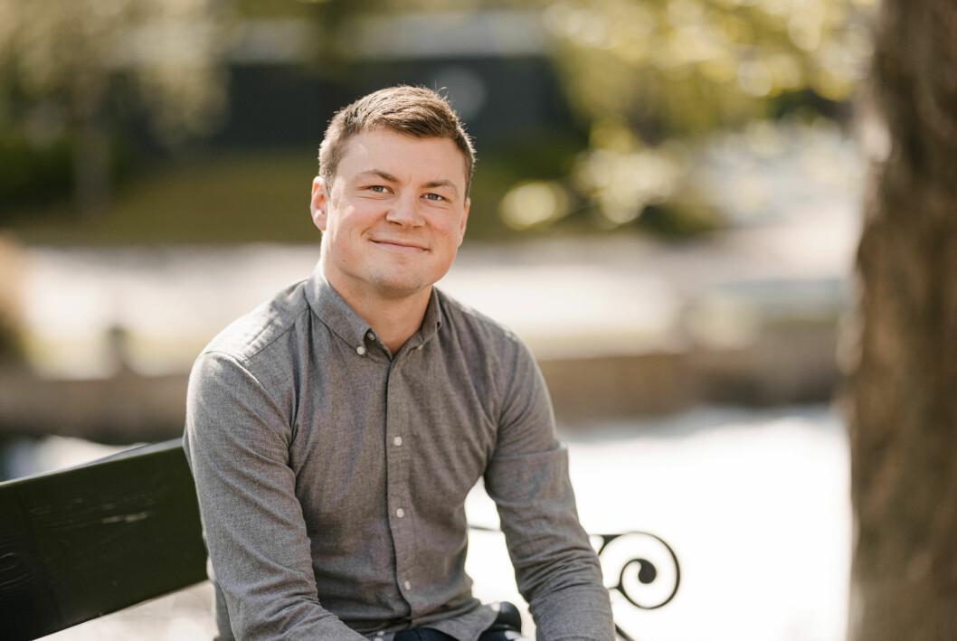 Konserndirektør Jostein Larsen Østring for nyheter og abonnement i Amedia.