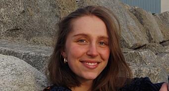 Thale Engelsen (22) er Dagsavisens nye nyhetsjournalist
