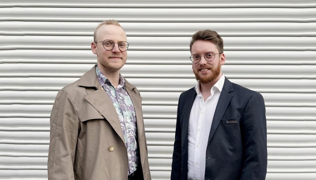 Geir Bergersen Huse (34) og Peter-André Hegg (29) er ansatt som nye Subjekt-journalister.