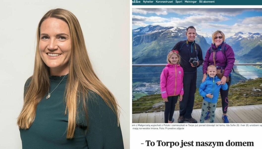 Ansvarlig redaktør i Hallingdølen, Lillian Holden, forteller at den polske versjonen av intervjuet har blitt lest flere ganger enn den norske