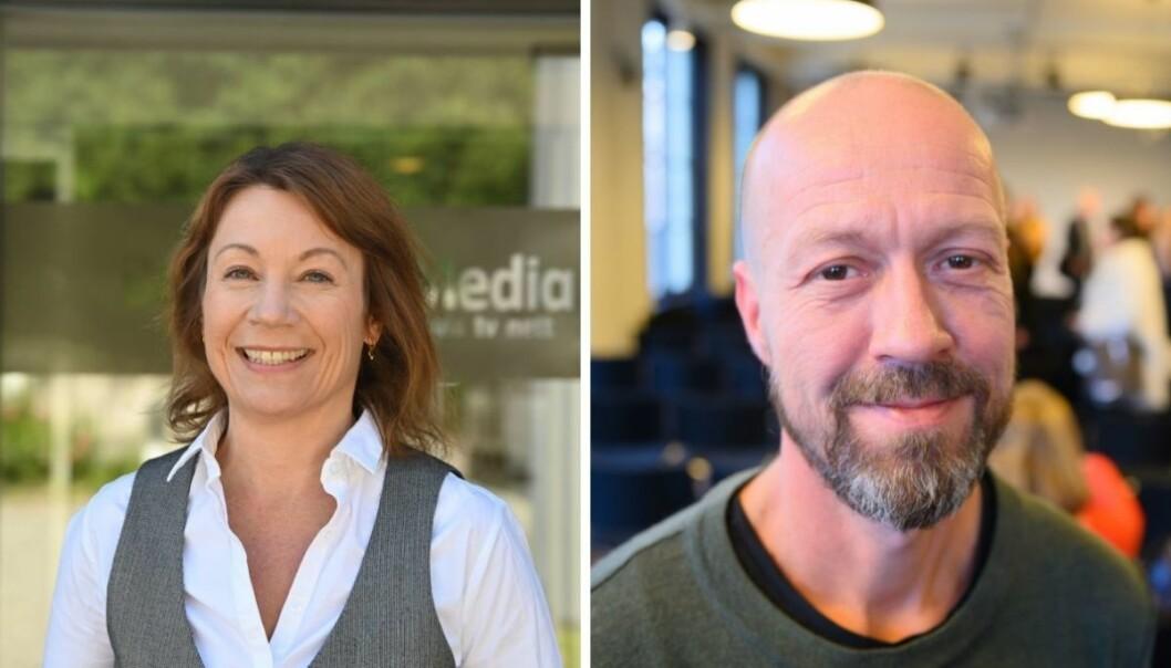 Redaktør i Budstikka, Kjersti Sortland og NRKs etikkredaktør, Per Arne Kalbakk