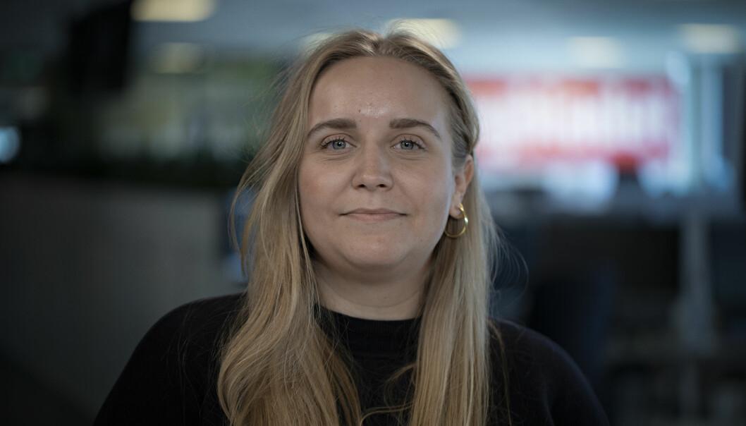 Mina Ridder-Nielsen blir vaktsjef i Dagbladet TV.