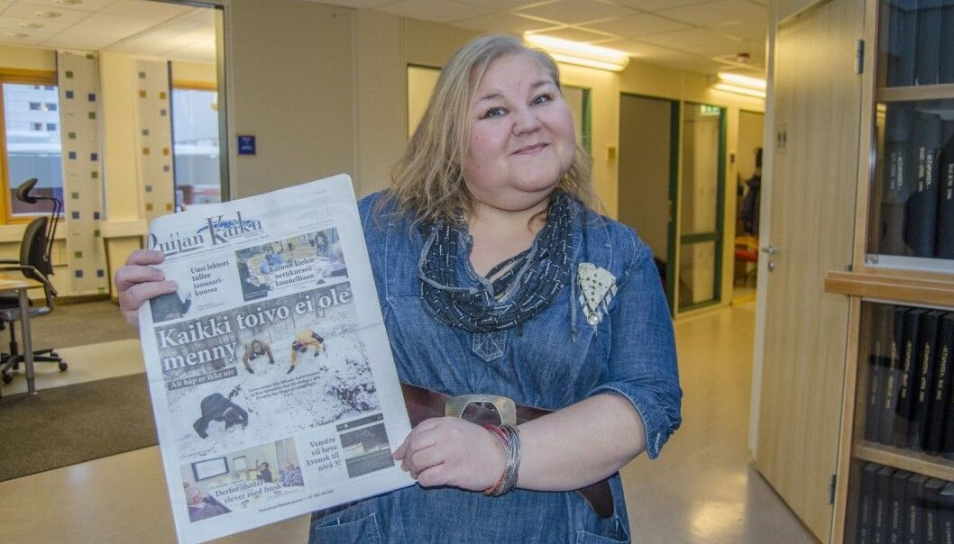 Heidi Nilima Monsen var redaktør i Ruijan Kaiku mellom 2016 og 2018.