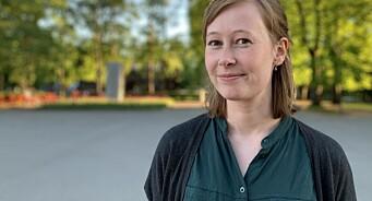 Kristine Sterud (28) ansatt som debattansvarlig i Medier24 AS