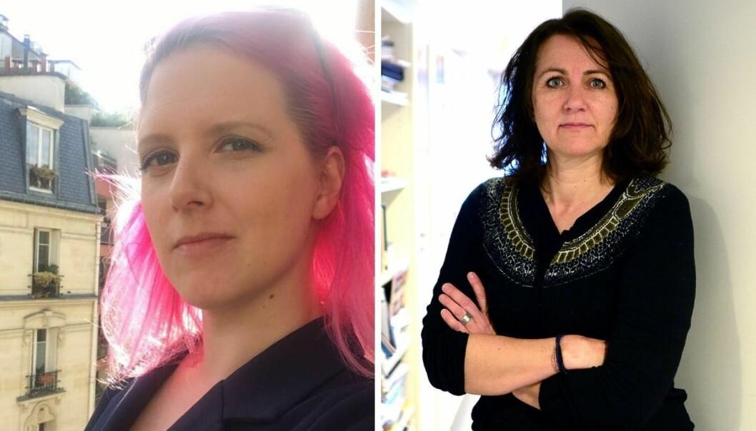 Fungerende nyhetssjef i Nettavisen, Siv Elisabeth Bjerke og assisterende generalsekretær i Norsk Redaktørforening, Reidun Kjelling Nybø.