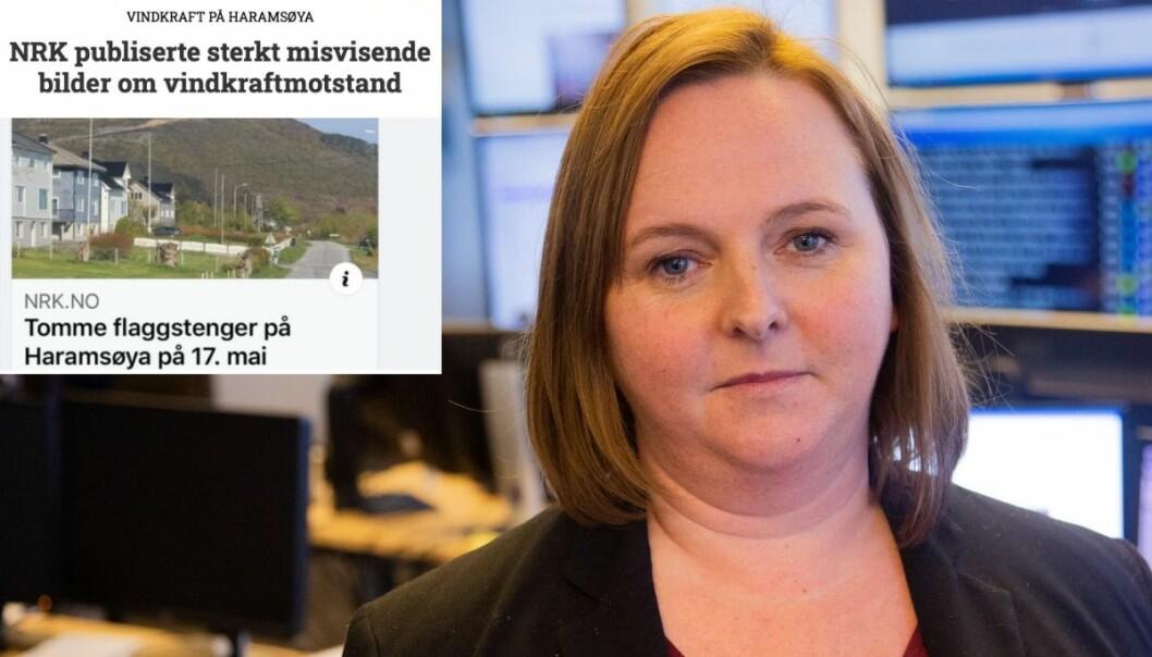 Distriktsredaktør i NRK Møre og Romsdal, Charlotte Ervik