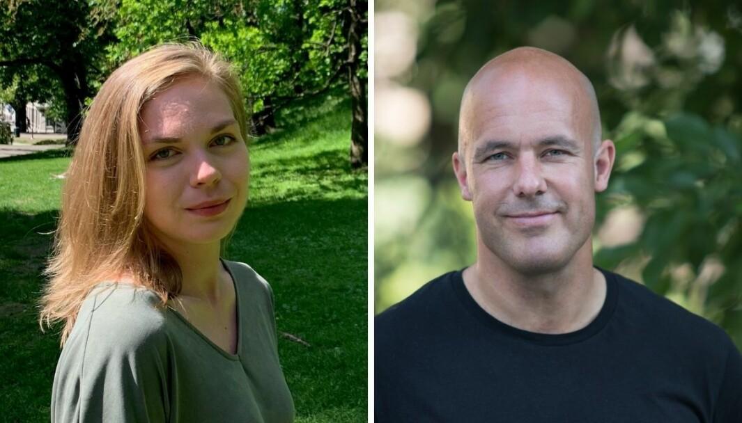 Marte Klausen (29) og Trond Rasmussen (45) er nye reportere i Dagbladet Pluss.