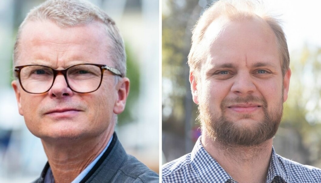 Stavanger Aftenblads sjefredaktør Lars Helle er misfornøyd med en Facebook-innlegg fra Rødts stortingskandidat Mímir Kristjánsson. Politikeren legger seg flat.