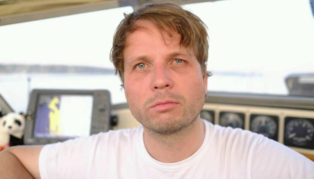Christian Kråkenes, journalist i NRK.