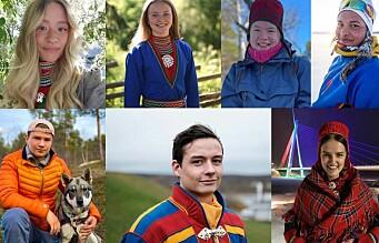 Disse sju er tatt ut til NRK Sápmis talentsatsing