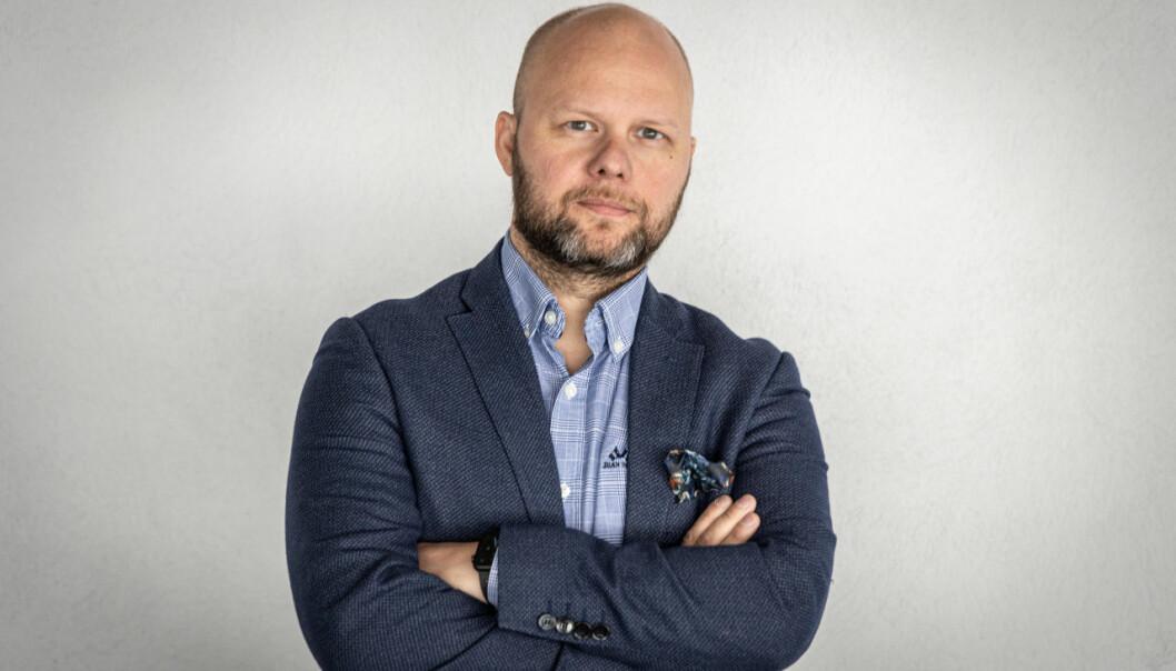 Ansvarlig redaktør i Bodø Nu, Espen Bless Stenberg