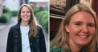 Pernille Johnsen og Ina-Kristin Lindin ansatt i Faktisk.no