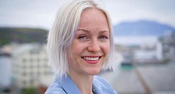 Synnøve Sundby Fallmyr (29) har fått fast journalistjobb i NRK Nordland