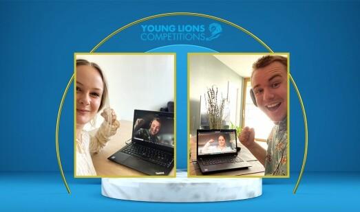 Tidenes første norske gull i Young Lions Marketeers!