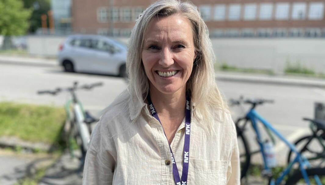 Hanne Marie Brevik skal lede NRKs gravegruppe på sport.