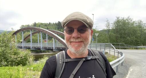 Redaktøren gikk 18 mil på 14 dager for å møte lokalbefolkningen: – En fantastisk artig opplevelse