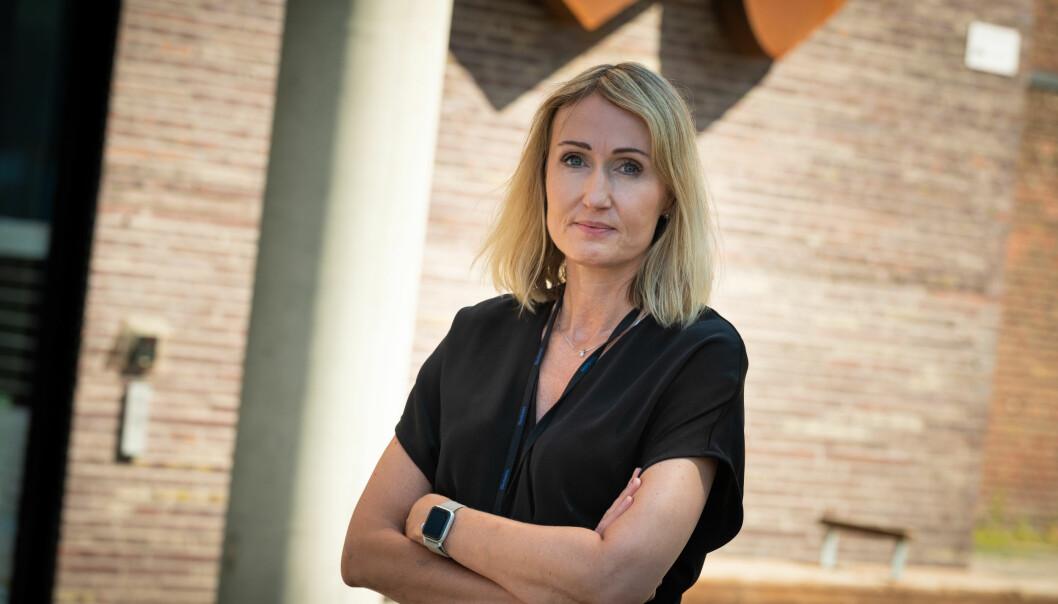 Sjefredaktør i Adresseavisen, Kirsti Husby.