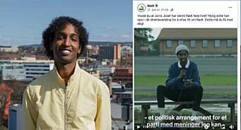 NRK-profilen stilte opp i politisk reklame: – Det må han unngå i fremtiden