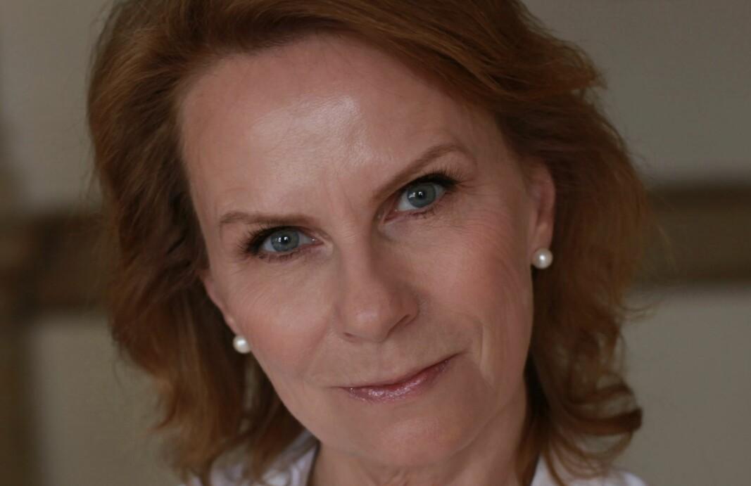 Undersøkende journalist i NRK, Marit Higraff, er programleder i podkasten «Death in Ice Valley».