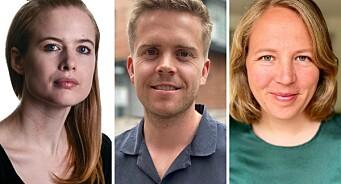 Aftenposten henter tre nye journalister: – Treffer midt i blinken