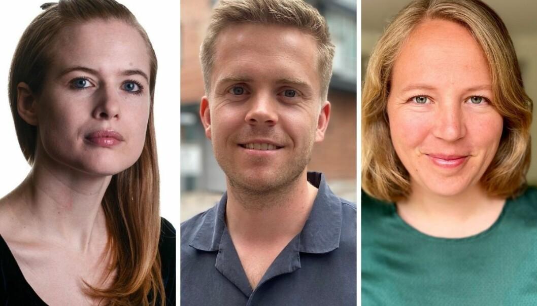 Åshild Langved, Anine Hallgren og Torkjell Trædal er ansatt i Aftenpostens innenriksavdeling.