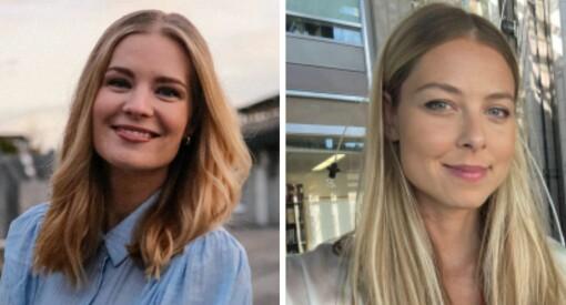 VG ansetter Anne Sofie Mengaaen Åsgaard og Line Fausko