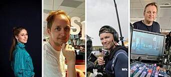 Thea (31), Vegard (43), Jan Erik (43) og Stig (52) fronter Polaris Medias nye digitalsatsing