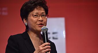 Hongkongs leder stemplet som fiende av pressefriheten