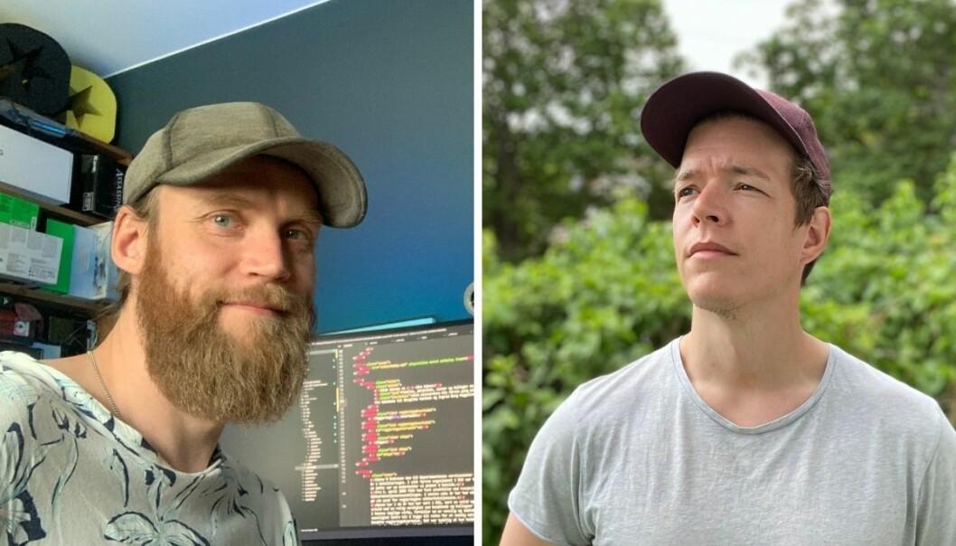 Redaksjonell utvikler Jonas Nilsson og dataekspert og journalist Einar Otto Stangvik i VG brukte ny teknologi for å bygge Baneheia-spesialen.