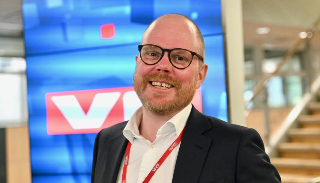 VG-sjef Gard Steiro vil ikke spå for mye om når papiravisen dør.