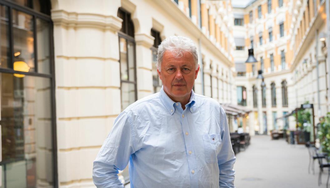 Sjefredaktør i Nettavisen, Gunnar Stavrum