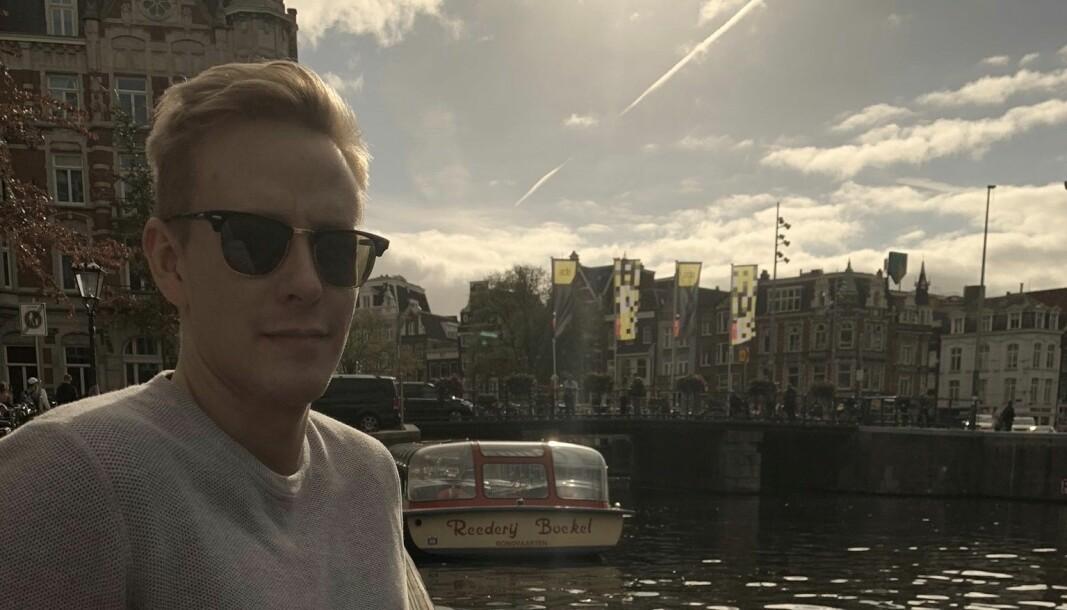 Fredrik Kampevoll blir gravejournalist i NRK.