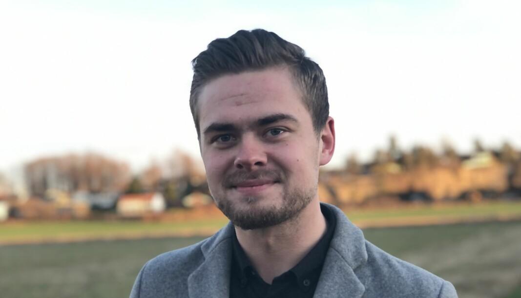 Ivar Benjamin Østebø, journalist og Utøya-overlevende.