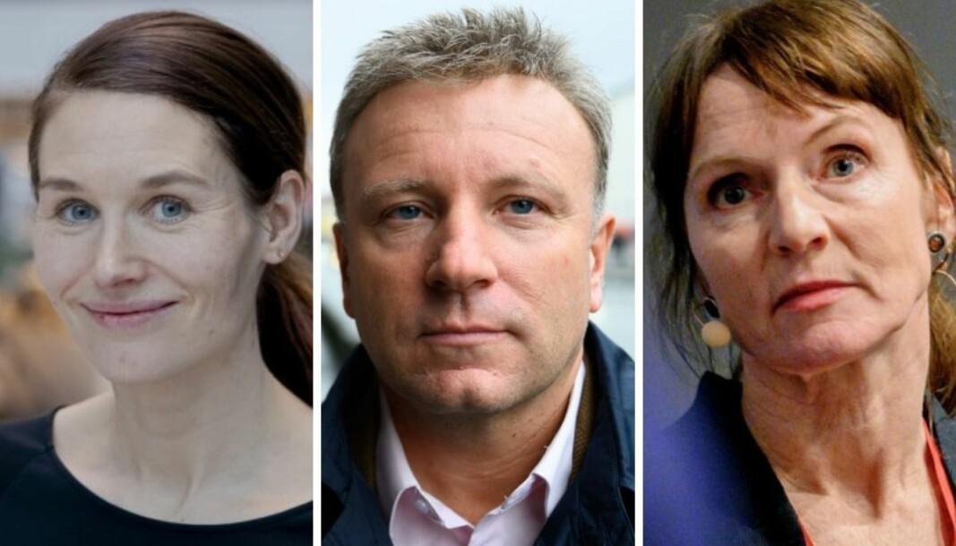 Bergens Tidendes politiske redaktør Eirin Eikefjord, Dagen-redaktør Vebjørn Selbekk og journalist Anki Gerhardsen er alle medlemmer av Ytringsfrihetskommisjonen.