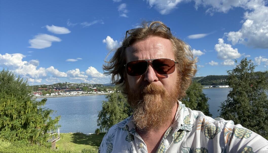iLevanger-redaktør Gaute Ulvik Haugan.