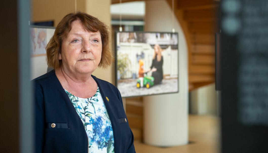 Lisbeth Røyneland i Støttegruppa oppfordrer mediene til å være varsomme med publisering av bilder fra Utøya.