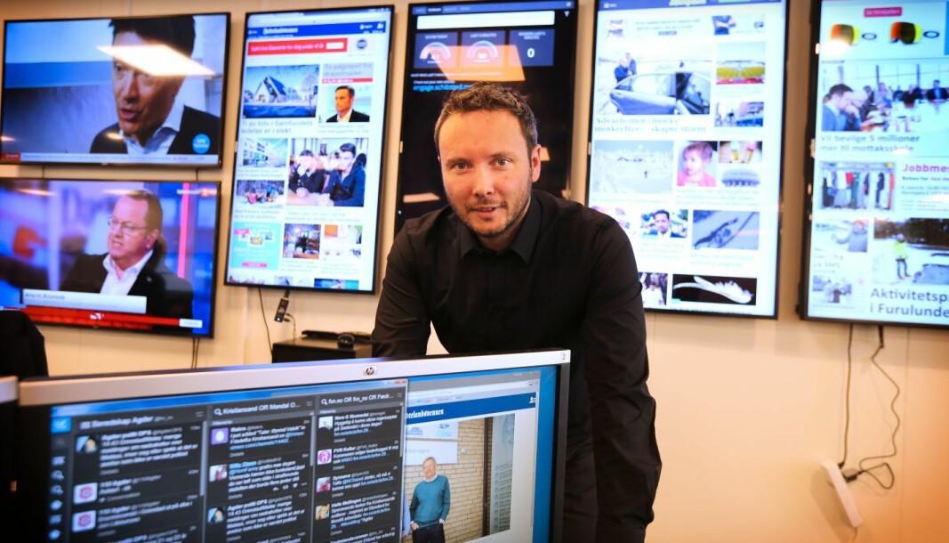 Fædrelandsvennen vil satse mer på gravejournalistikk til høsten, forteller nyhetsredaktør Jonas Mjaaland.