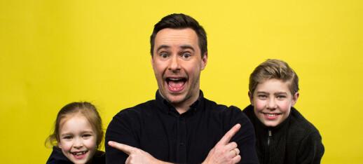 Tidligere NRK-profil Stian lager quiz på podkast