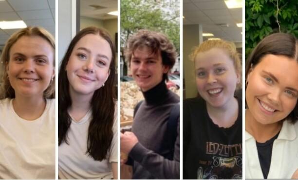 Nordstrands Blad har disse fem sommervikarene: – En dyktig gjeng